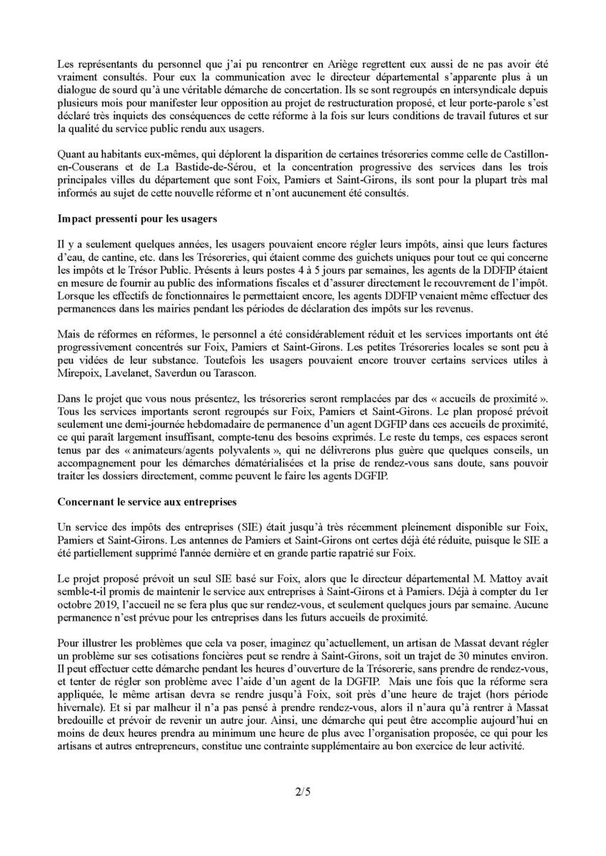 Courrier Darmanin Page 2